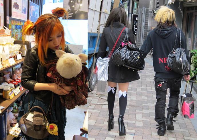 cute pig stuffed toy, plush pigs, goth teens with dyed bleached hair, NEW TOKYO TV HOSTING JOB: DUTCH PEPSI WEB EPISODES ABOUT JAPAN POP CULTURE & FASHION! AMSTERDAM, NETHERLANDS TRAVEL HOST. Gothic Lolita turquoise dress, rare JSK, carina e arlequin, jingu bridge harajuku street style, jingubashi, harajuku cosplayers, tokyo crazy teen fashion