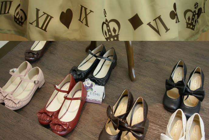 gothic lolita shoes, mary janes, cute kawaii footwear, rocking horse shoes, INNOCENT WORLD SHOP IN OSAKA. GOTHIC LOLITA STORES & SHOPPING MAP, SHINSAIBASHI JAPAN. SWEET LOLI SHOES, japanese lolita clothing boutiques, gosurori fashion osaka, atelier pierrot, mary magdalene, innocent maiden, where to buy goth punk harajuku clothes in osaka, alternative stores.