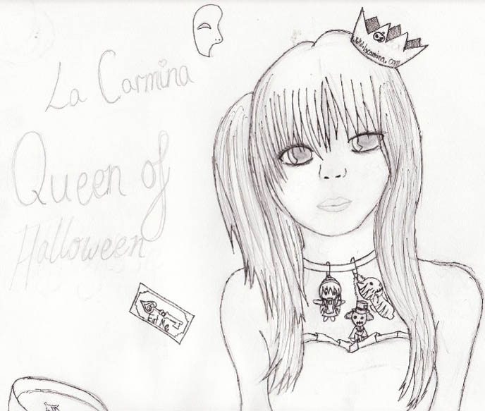 la carmina drawing, fan art, painting, deviantart, goth lolita girl graphic, manga illustration, anine lolita girls, ashion alternative subcultures blogger, japan harajuku fashion, street style, egl gothic lolita blogs, best lolita blogs, shopping in tokyo, cute food, bento decoration, cute yummy time, kawaii charaben
