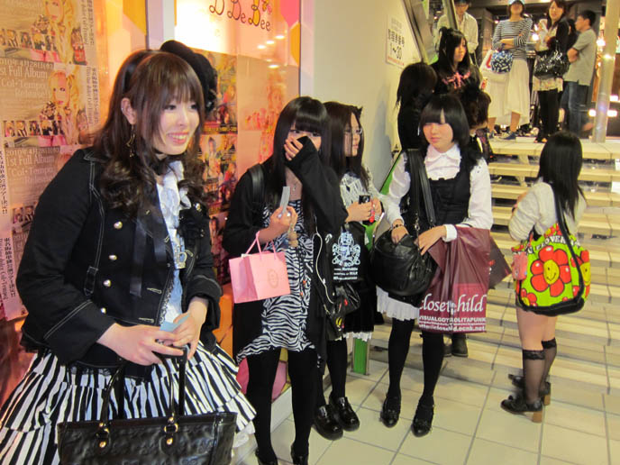 LAFORET HARAJUKU: GOTHIC LOLITA PUNK ALTERNATIVE BOUTIQUES, TOKYO CLOTHING STORES. ROCKING HORSE SHOES, BABY THE STARS SHINE BRIGHT. classic sweet lolita, gosurori, gothloli egl, shopping guide tokyo, gothic japan girl models, spooky goth emo teens, japanese tokyo alternative punk clothes, women's designer brand clothing, department stores japanese, visual kei teens