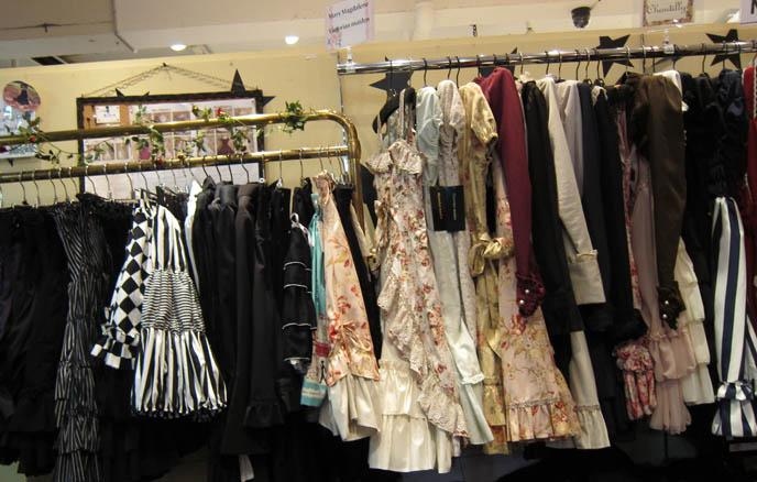 LAFORET HARAJUKU: GOTHIC LOLITA PUNK ALTERNATIVE BOUTIQUES, TOKYO CLOTHING STORES. ROCKING HORSE SHOES, BABY THE STARS SHINE BRIGHT. classic sweet lolita, gosurori, gothloli egl, shopping guide tokyo, gothic japan girl models, spooky goth emo teens, japanese tokyo alternative punk clothes, women's designer brand clothing, department stores japanese, visual kei teens