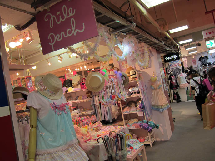 nile perch, fairy kei, spank, 1980s retro japan clothes, tavuchi, SWEET LOLITA SHOPPING IN TOKYO, JAPAN. LAFORET HARAJUKU: ANGELIC PRETTY, PUTUMAYO, NILE PERCH, ATELIER PIERROT. WOMEN'S CLOTHES, HAIR ACCESSORIES. cute kawaii elegant GOTHIC LOLITA CLOTHING FOR SALE, LAFORET HARAJUKU DEPARTMENT STORE. PUNK ALTERNATIVE BOUTIQUES, TOKYO CLOTHING STORES. gosurori, gothloli egl, shopping guide tokyo, japanese tokyo alternative punk clothes, women's designer brand clothing, department stores japanese labels
