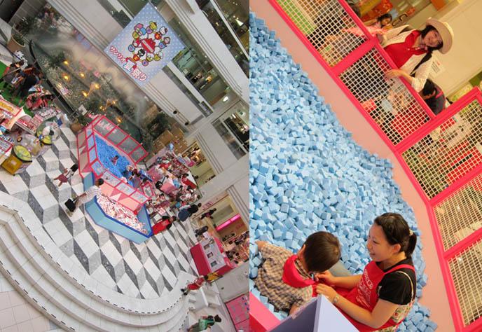 HELLO KITTY SANRIO SHOPS IN TOKYO. SUNSHINE CITY IKEBUKURO SHOPPING CENTER, SANRIO KIDS FESTIVAL. Kawaii cute stationery, plush toys, where to buy hello kitty cheap goods, japan stores, sanrio puroland, theme park, kuromi, tuxedo sam, keroppi games