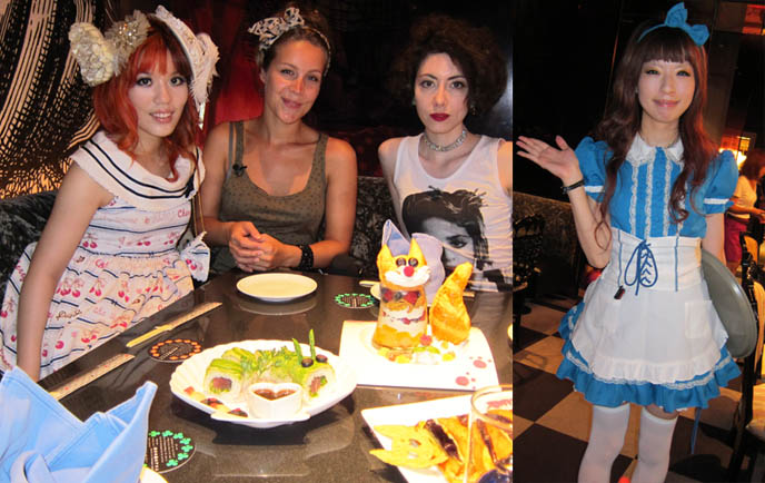 ALICE IN WONDERLAND CAFE, SHINJUKU, cute food. PEPSI TV: FUN PLACES IN TOKYO, JAPAN. KARAOKE SINGING, VIDEO OF HARAJUKU FASHION. TOKYO TRAVEL TV SHOOT HOSTING & ARRANGING: DUTCH PEPSI. SEGA GAME CENTER, HARAJUKU FASHION GUIDE, japanese youth clothing fashion expert, street style, weird japan, crazy japanese activities, takeshita doori, television filming movie, netherlands, bo jeuken, watkijkjij videos netherlands, strange traveling