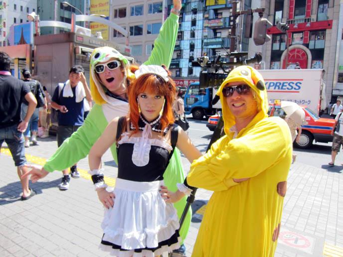 two tims travel show australia, sony tv, roam, la carmina maid outfit, cosplay