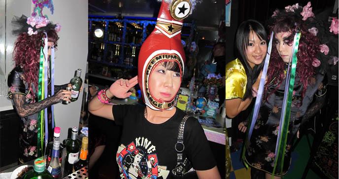 dj sisen TOKYO DECADANCE BAR, CHRISTON CAFE SHINJUKU. DJ SISEN, ABSINTHE, DRAG QUEEN PERFORMANCES JAPAN, decabar, cyber bar nightclub, gothic industrial ebm nightlife, best alternative clubbing in tokyo japan, selia, adrien le danois, religious theme restaurant, crazy themed cafes bars
