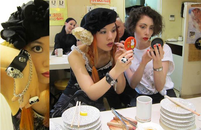 TOKYO DECADANCE bar, club party at CHRISTON CAFE SHINJUKU. DJ SISEN, ABSINTHE, DRAG QUEEN PERFORMANCES JAPAN, decabar, cyber bar nightclub, gothic industrial ebm nightlife, best alternative clubbing in tokyo japan, selia, adrien le danois, religious theme restaurant, crazy themed cafes bars