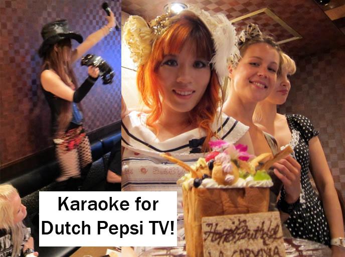 Alanis Morissette You Oughta Know Weird Japan Funny Silly Japanese Girl Singing Karaoke Singalong Harajuku Fashion