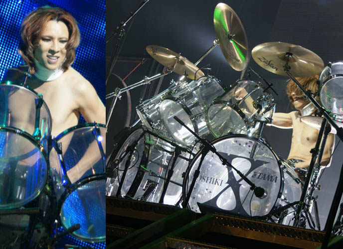 x japan us tour, usa, lollapalooza, wiki, myspace, yoshiki drummer leader of x japan, japanese most famous rock bands in japan, photos canada concert, movie dvd tour video, yoshiki at drum kit standing, hot jrockers, cute jrock boys, X JAPAN LIVE PERFORMANCE PHOTOS,  CONCERT REVIEW photos of yoshiki, NORTH AMERICAN TOUR 2010, VANCOUVER. drummer pianist japanese rock stars YOSHIKI, TOSHI, SUGIZO. heath, pata, x japan concerts stage outfits, jrock concert, エックス ジャパン, visual kei artists bands music, buy j-rock tours concerts, xjapan tickets