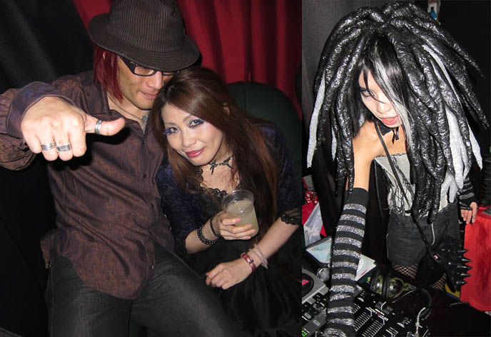 SEILEEN CD RELEASE PARTY AT DECADANCE BAR, CHRISTON CAFE. DJ SISEN, SELIA, ADRIEN OF TOKYO DECADANCE CLUB PARTY. Downloads mp3s j-rock music, jrockers musicians groups, Cyber fashion cross-dressing transsexual japanese, goth events listings japan, gothic clothing, eyes wide shut costumes