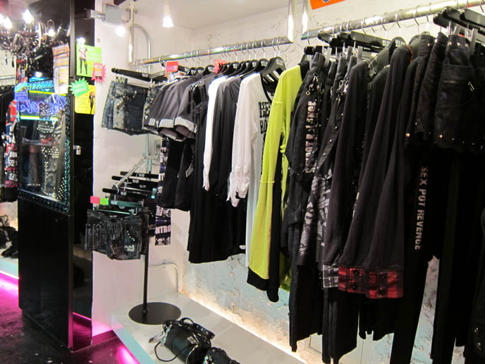 SEX POT REVENGE HARAJUKU, BUY PUNK CLOTHING JAPAN. Male rock jrock clothes, boutiques, sexpot fashion, sexy alternative models men, HANGRY & ANGRY H.NAOTO POP UP STORE, STUDIO ALTA. cute kawaii cats brand mascots, japanese gal gyaru shops, shinjuku tokyo