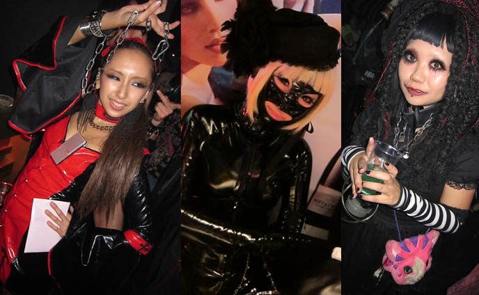cool japanese weird halloween costumes, best costume halloween, skimpy halloween costumes, latex vinyl masks bodysuits, buy dresses, cute japanese goth girls, asian girl short dress, fashion asia street snaps, bondage sm club night, TORTURE GARDEN JAPAN: HALLOWEEN FETISH BDSM CLUB PARTY, AKASAKA EREBOS TOKYO. KIGURUMI & SEXY JAPANESE GIRLS IN LEATHER. goth clubs shinjuku, gothic lolita punk events, s&m, slaves, alternative parties, nightlife, nightclubs tokyo