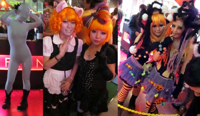 decora kei, cute japanese goth girls, halloween orange hair wigs, kera magazine, fruits fashion, buy asian designer clothes, dress, fashion asia street snaps, punk women's fashion japanese, club night, TORTURE GARDEN JAPAN: HALLOWEEN FETISH BDSM CLUB PARTY, AKASAKA EREBOS TOKYO. SEXY JAPANESE GIRLS IN LEATHER. goth clubs shinjuku, gothic lolita punk events, s&m, slaves, alternative parties, nightlife, nightclubs tokyo