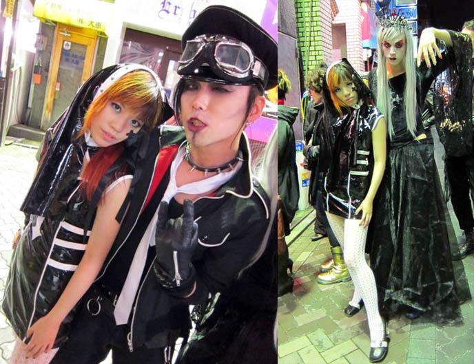 lip service goth nun costume, habitualized, skimpy halloween costumes, latex vinyl dresses, cute japanese goth girls, asian girl short dress, fashion asia street snaps, punk women's fashion japanese, club night, TORTURE GARDEN JAPAN: HALLOWEEN FETISH BDSM CLUB PARTY, AKASAKA EREBOS TOKYO. KIGURUMI & SEXY JAPANESE GIRLS IN LEATHER. goth clubs shinjuku, gothic lolita punk events, s&m, slaves, alternative parties, nightlife, nightclubs tokyo