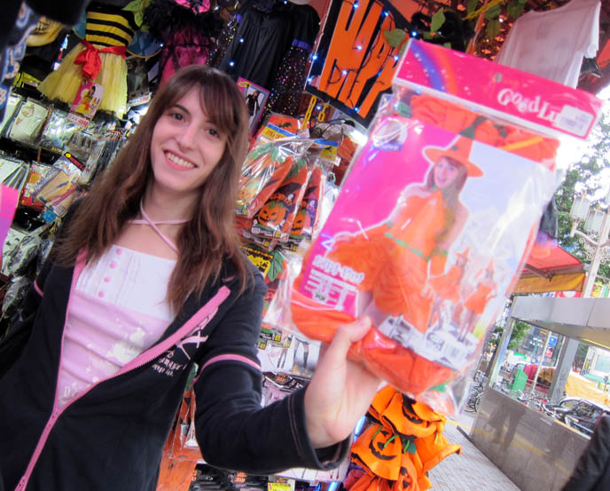 japanese halloween costumes, order buy japan cosplay outfits, kawaii sailor moon, witch outfit, CUTE, SEXY JAPANESE GIRLS HALLOWEEN COSTUME. 衣裳 Don Quixote Shinjuku, dollar store, tokyo cool fashion style, pop culture, weird japan, french maid, skimpy female costumes, pumpkin dress