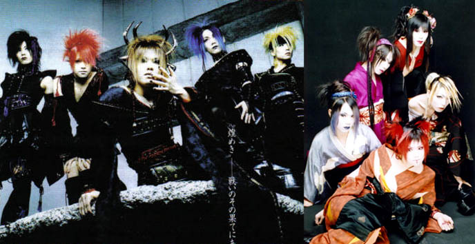 kagrra disbands visual kei band breaking up in march final concert tour cd - Band Halloween Costumes