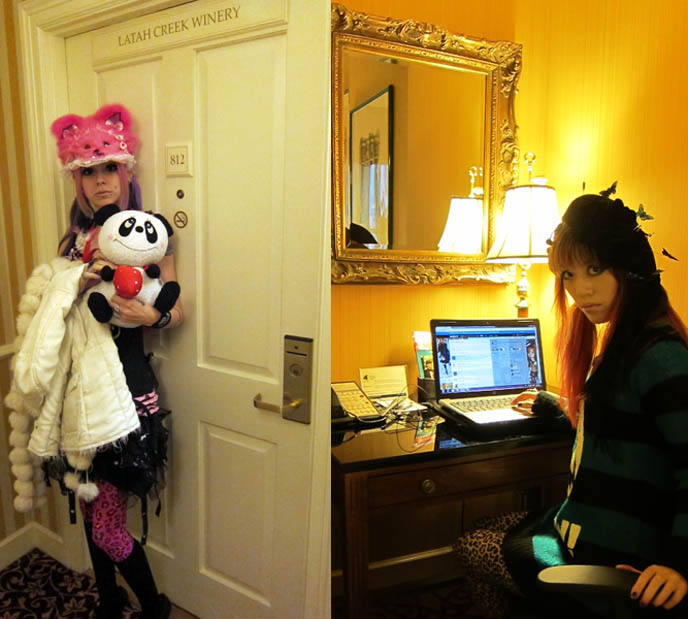 HOTEL VINTAGE PARK SEATTLE: KIMPTON LUXURY BOUTIQUE HOTELS. downtown seattle hotels, near pike place market, WINE TASTINGS, ECO & PET-FRIENDLY, BEST SERVICE. 4 star affordable rooms, hotels in seattle washington, hippest coolest hotel interiors, HARAJUKU PUNK LEOPARD FASHION. LISTEN FLAVOR CAT SWEATER, ANIMAL PRINT LEGGINGS. BIG EYES JAPANESE MAKEUP TECHNIQUES. Cute jpop girls, gyaru, japan gal fashion, harajuku girls, custom hat, emily temple cute, alice and the pirates, shiny black ankle boots