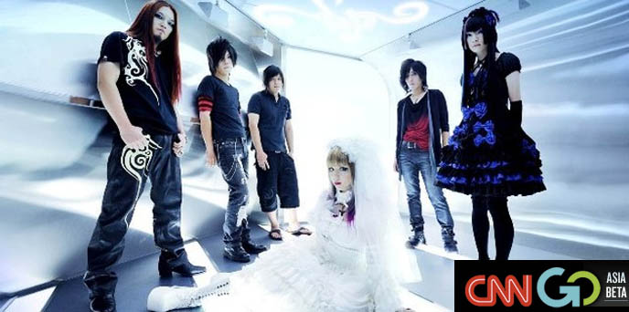 JAPANESE HEAVY METAL BANDS, BLOOD STAIN CHILD & GASTUNK ON CNN, cnngo article, metal groups, performers in japan, marlie, visual kei, x japan, killing red addiction, taiji, anthem, earthshaker, aion, loudness, metal stage outfits, crazy japanese hair metal, livehouses, concert venues, hard rock shows