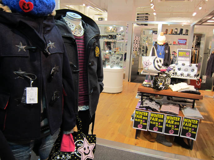 WORLD WIDE LOVE, japanese clothing brand, CUTE GHOSTS & JAPANESE MENS PUNK CLOTHING. MALKO MALKA, SUPER LOVERS, PEACE NOW, ALGONQUINS. JAPAN STREETWEAR BRANDS. COOL TRENDY japan clothes, FAIRY KEI & CUTE GIRLS ACCESSORIES IN TOKYO: LAFORET HARAJUKU DEPARTMENT STORE GUIDE. NEO, CURE VISUAL KEI MAGAZINE. SWEET & ELEGANT GOTHIC LOLITA STORES, FASHION SHOPPING IN LAFORET HARAJUKU. COOLEST BEST CLOTHING SHOPS, TOKYO JAPAN. HARAJUKU SHOPPING GUIDE: TOKYO GOTHIC LOLITA PUNK SHOP PHOTOS, menswear CLOTHING STORES. buy online korean fashion, japan retailers wholesale