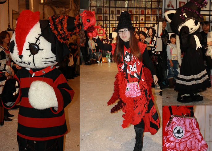 H.NAOTO FASHION SHOW, INTERVIEW: HANGRY & ANGRY DESIGNER GASHICON. HARAJUKU LATEST PUNK STREET STYLES, CUTE JAPANESE GIRL MODELS. H NAOTO sixh, s-inch, anime conventions selling gothic lolita clothes, elegant goth aristocrat, punk japanese clothes for sale, gothic lolita punk fashion harajuku h.naoto sixh hangry angry gashicon cute japanese girls models lolitas pretty kawaii adorable girl young teens schoolgirls modeling b-52s runway show presentation collection preview tokyo street style cool new fashions latest trendy fads streetwear s-inc la carmina lacarmina goth girls interview designer manga anime jpop