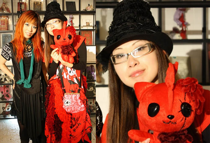 VIDEO INTERVIEW: HANGRY & ANGRY DESIGNER GASHICON. H.NAOTO FASHION SHOW, HARAJUKU LATEST PUNK STREET STYLES, CUTE JAPANESE GIRL MODELS. H.NAOTO sixh, s-inch, anime conventions selling gothic lolita clothes, elegant goth aristocrat, punk japanese clothes for sale, gothic lolita punk fashion harajuku h.naoto sixh hangry angry gashicon cute japanese girls models lolitas pretty kawaii adorable girl young teens schoolgirls modeling b-52s runway show presentation collection preview tokyo street style cool new fashions latest trendy fads streetwear s-inc la carmina lacarmina goth girls interview designer manga anime jpop