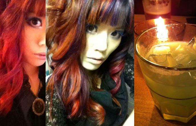 cyber goth hairstyles. gothic hairstyles women,