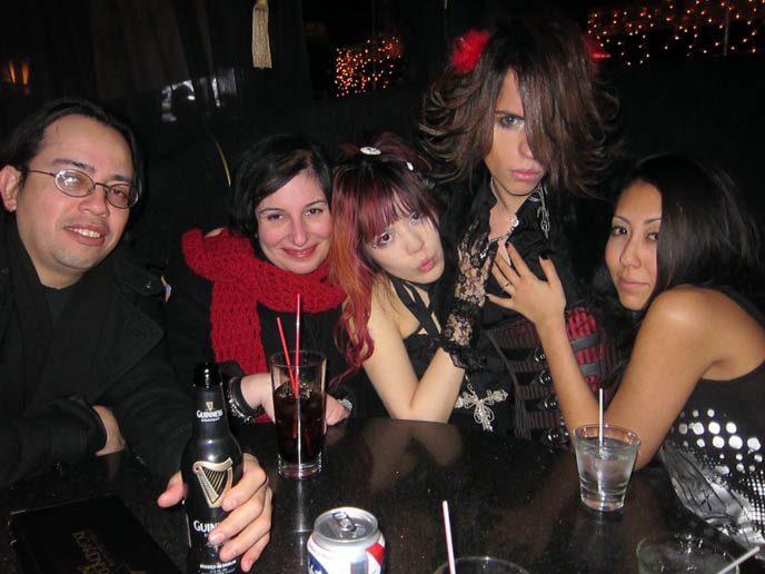 LA GOTH PARTIES: BAR SINISTER HOLLYWOOD, NEW YEAR'S DAY EVENT. BEST JAPANESE PARTY HOSTS EVER. sebastiano serafini dating, セバスティアーノ セラフィニー luca student nihonjin no shiranai nihongo日本人の知らない日本語 gothic industrial nightlife los angeles, california industrial music bands, concerts