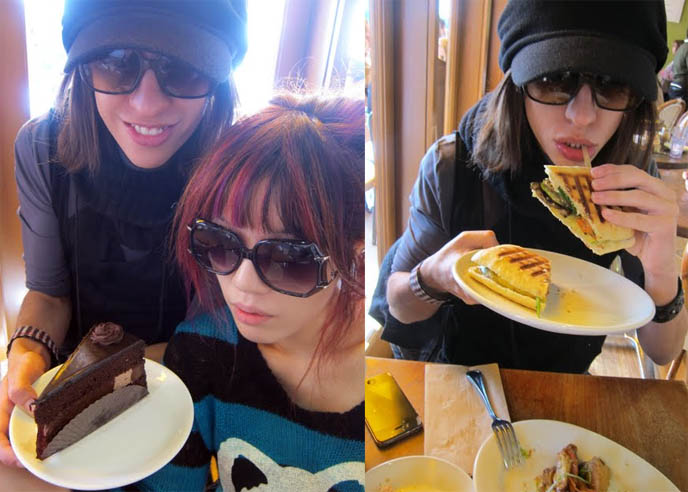 m cafe de chaya, melrose, m cafe, Fudge cake, paninis, healthy desserts, BEST PLACES TO EAT IN LOS ANGELES! LA HEALTHY RESTAURANTS, ORGANIC VEGETARIAN FOOD, AROMA, M CAFE, FARMER'S MARKET WEST HOLLYWOOD. vegan restaurants la, beverly hills, whole foods fairfax, magnolia cafe los angeles, trendy hip place sto eat, cool food, weird restaurants, goth dining, fitness food, ethnic restaurants, little ethiopia, w3rd restaurant row