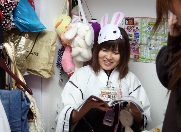 PHOTOS OF JAPAN MAID CAFES: PRETTY JAPANESE GIRLS IN AKIHABARA, TOKYO. COSPLAY FRENCH MAIDS, OTAKU SUBCULTURES. cosplay, cute, girls, japan, japanese, kawaii, La Carmina, lacarmina, maid cafe, maids, theme restaurants, tokyo-japan, otaku culture, anime, manga, weird, halloween costumes meido