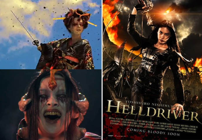 Yoshihiro Nishimura hELLDRIVER, j horror, japanese horror movie reviews,  Tokyo International Zombie Film Festival,  Film, J-Horror, Zombies, Yoshihiro Nishimura, Splatter, Zombies, Maki Mizui, Helldriver, Cay Izumi, watch online korea movies extreme, violent films serial killer KOREAN & JAPANESE HORROR MOVIE REVIEWS: I SAW THE DEVIL, HELLDRIVER. ASIAN SPLATTER-GORE FILMS, YOSHIHIRO NISHIMURA.