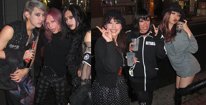 TOKYO DARK CASTLE: BAAL, AUTO-MOD, DJ CHIHIRO. GOTH INDUSTRIAL CLUB NIGHTS, ALTERNATIVE PARTIES IN JAPAN. Shinjuku club marz, ebm, darkwave, gothic fashion shopping tokyo, visual kei music, TAIZO / KENZO-A, DEMONS / 東狂黒 / P.I.M.P