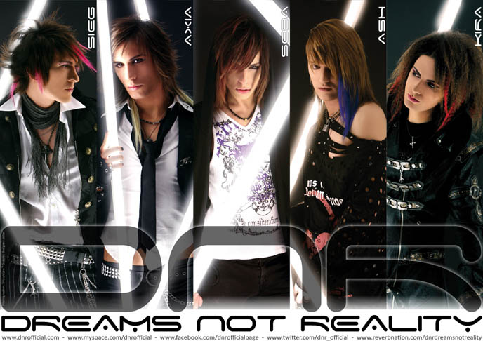 DNR, DREAMS NOT REALITY, ITALIAN VISUAL KEI BAND: SEBASTIANO SERAFINI IS NEW VOCALS & KEYBOARDS MEMBER, RUSSIA TOUR, dnr, euro visual, european jrock bands, dnr kira, axia, seba, vocals singer, keyboardist, notta rosa, italian visualkei, goth electro music, luminor cinema bizarre, italian rock bands, Music, Lyrics, Songs, and Videos, mp3, download dnr songs