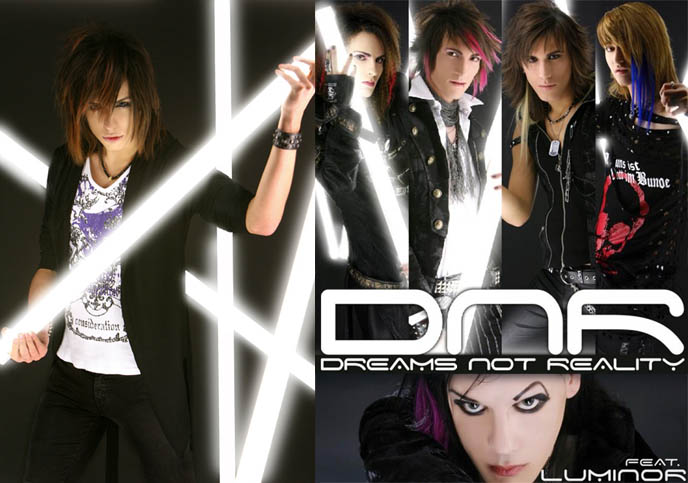 DNR, DREAMS NOT REALITY, myspace dnr, ITALIAN VISUAL KEI BAND: SEBASTIANO SERAFINI IS NEW VOCALS & KEYBOARDS MEMBER, RUSSIA TOUR, dnr, euro visual, european jrock bands, dnr kira, axia, seba, vocals singer, keyboardist, notta rosa, italian visualkei, goth electro music, luminor cinema bizarre, italian rock bands, Music, Lyrics, Songs, and Videos, mp3, download dnr songs